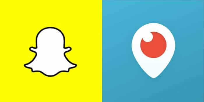 Periscope vs Snapchat